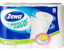 Zewa Wisch & Weg Haushaltspapier Weiss