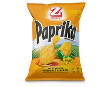 Zweifel Chips Paprika, Familypack, 280 g