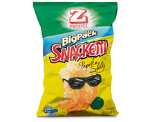 Zweifel Snacketti Paprika Shells, Big Pack XXL, 225 g