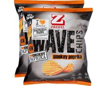 Zweifel Wave Chips Smokey Paprika