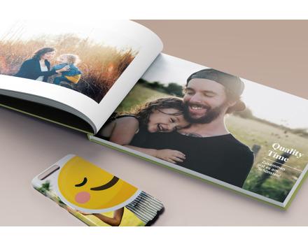15% Rabatt auf Fotoprodukte bei Bookfactory