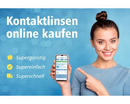 15% Rabatt bei Linsenmax: Supergünstige Kontaktlinsen