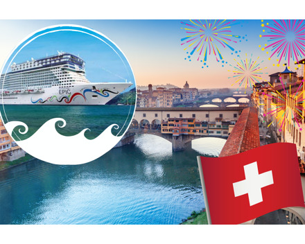 80% - 1.August Knalleraktion bei CruiseCenter.ch
