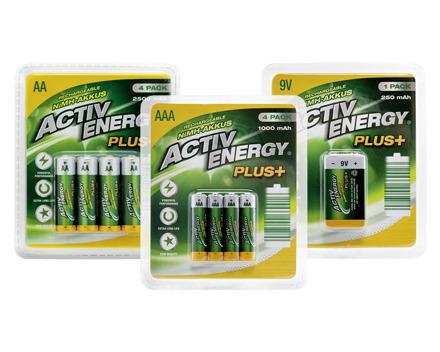 ACTIVE ENERGY® NIMH-HOCHLEISTUNGSAKKUS