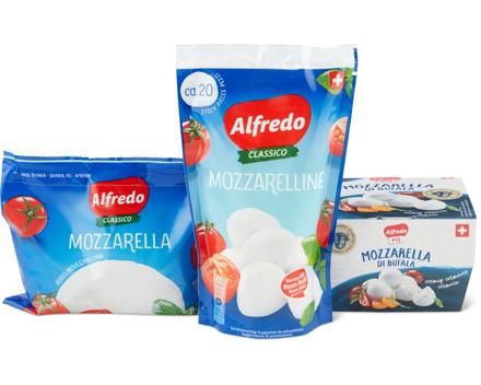 Alle Alfredo Mozzarellas