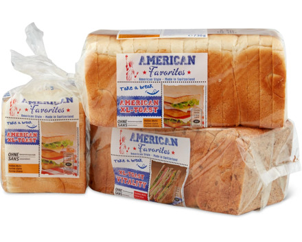 Alle American Favorites Toasts