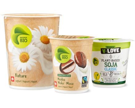 Alle Bio Joghurts und Bio V-Love Vegurts