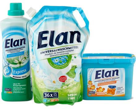 Alle Elan Waschmittel