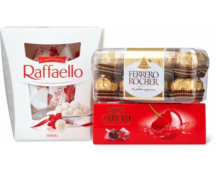 Alle Ferrero Pralinen
