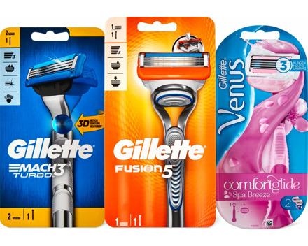 Alle Gillette- und -Venus-Rasierer