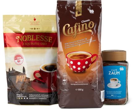 Alle Instant-Kaffees, UTZ