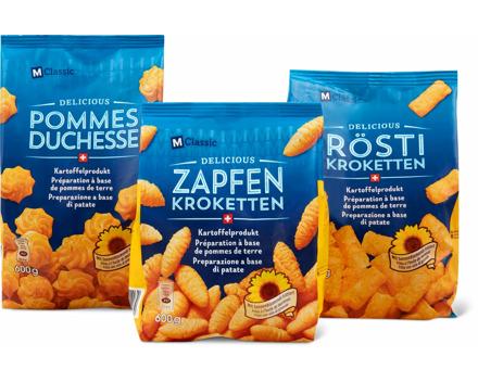 Alle M-Classic Delicious Kartoffel-Produkte