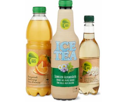 Alle Migros-Bio Getränke ungekühlt