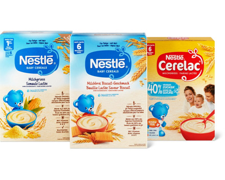Alle Nestlé Breie