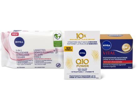 Alle Nivea-Gesichtspflege-Produkte sowie -Creme und -Soft