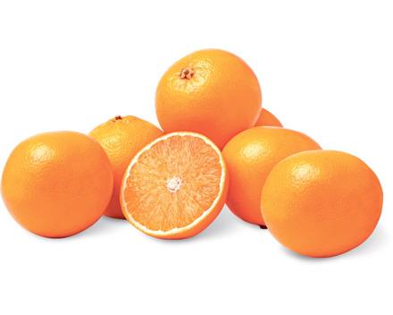 Alle Orangen im Offenverkauf