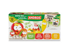 Andros Fruit Me Up!, ohne Zucker, Familypack, 18 x 90 g