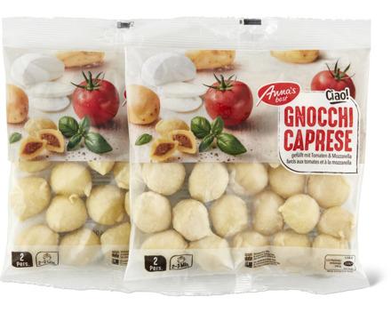 Anna's Best Gnocchi caprese oder Fiori limone & formaggio fresco