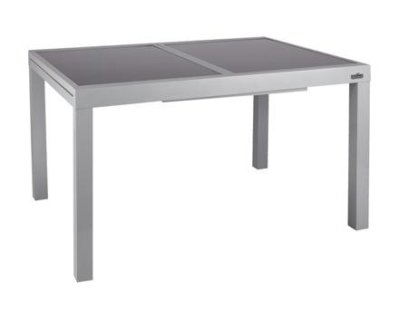Ausziehbarer Aluminium-Gartentisch