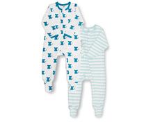Baby Pyjama mit Fuss für Boys oder Girls