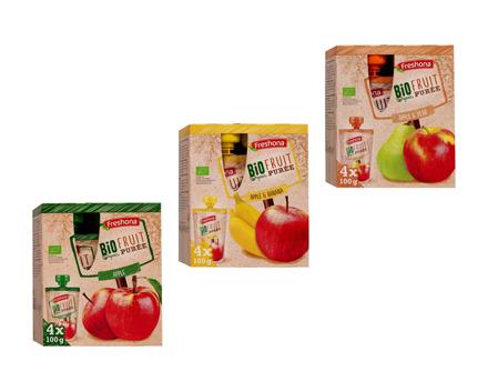 Bio Fruchtpüree Multipack