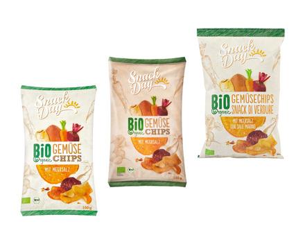 Bio Gemüsechips