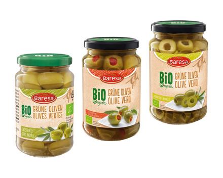 Bio Grüne Oliven