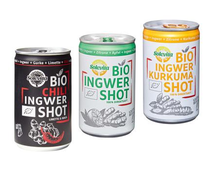 Bio Ingwer Shot