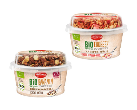 Bio Joghurt mit Knusperflakes