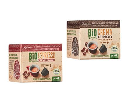 Bio kompostierbare Kaffeekapseln