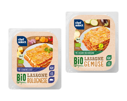 Bio Lasagne