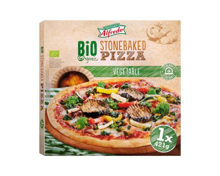 Bio Pizza mit Gemüse
