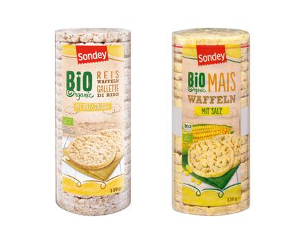 Bio Reis-/Maiswaffeln