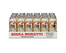 Birra Moretti, Dosen, 24 x 50 cl