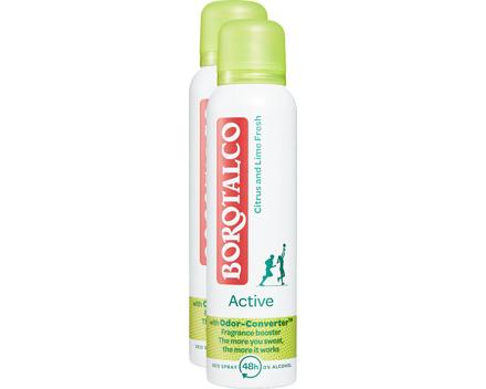 Borotalco Deo Spray Active