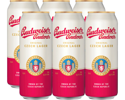 Budweiser Lagerbier Original