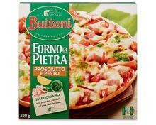 Buitoni Pizza Forno di Pietra Prosciutto e Pesto, tiefgekühlt, 3 x 350 g