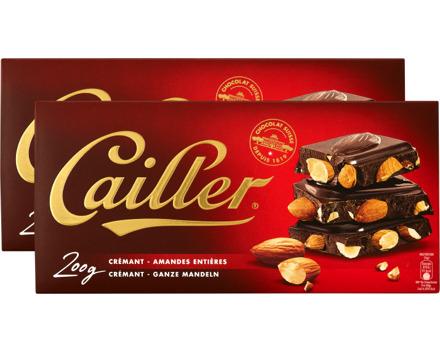 Cailler Tafelschokolade Crémant Mandel