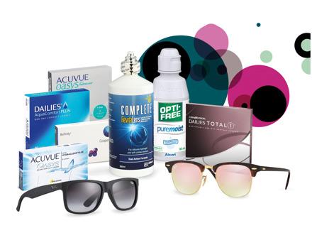 CHF 20.–  für Kontaktlinsen & Co. bei Lensvision