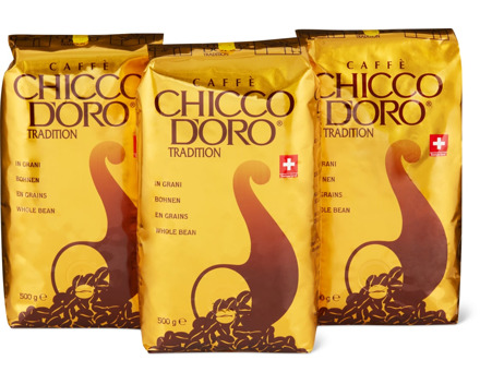 Chicco d'Oro in Bohnen oder gemahlen