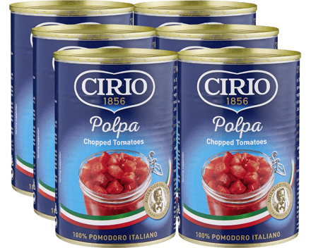 Cirio Tomatenstücke