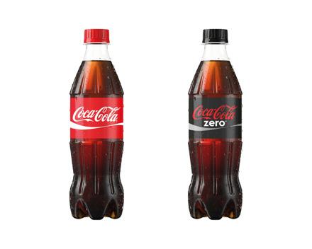 Coca Cola Classic/Zero