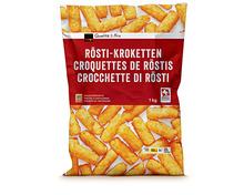 Coop Backofen-Rösti-Kroketten, Schweiz, tiefgekühlt, 1 kg