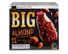 Coop Big Lutscher Almond, Fairtrade Max Havelaar, 12 x 120 ml