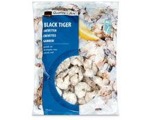 Coop Crevetten, Black Tiger, roh, geschält, ASC, aus Zucht, Vietnam, tiefgekühlt, 750 g
