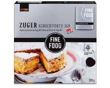 Coop Fine Food Zuger Kirschtorte, IGP, 300 g