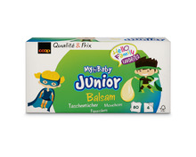 Coop My Baby Junior Taschentücher Balsam, FSC®, Box, 4 x 80 Stück