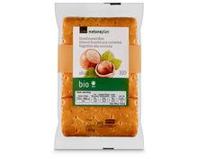 Coop Naturaplan Bio-Haselnussrollen, 3 x 60 g