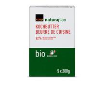 Coop Naturaplan Bio-Kochbutter, 5 x 200 g