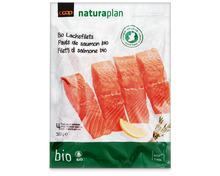 Coop Naturaplan Bio-Lachsfilets, aus Zucht, Irland, tiefgekühlt, 500 g